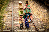 On the Rail Tracks in PERU